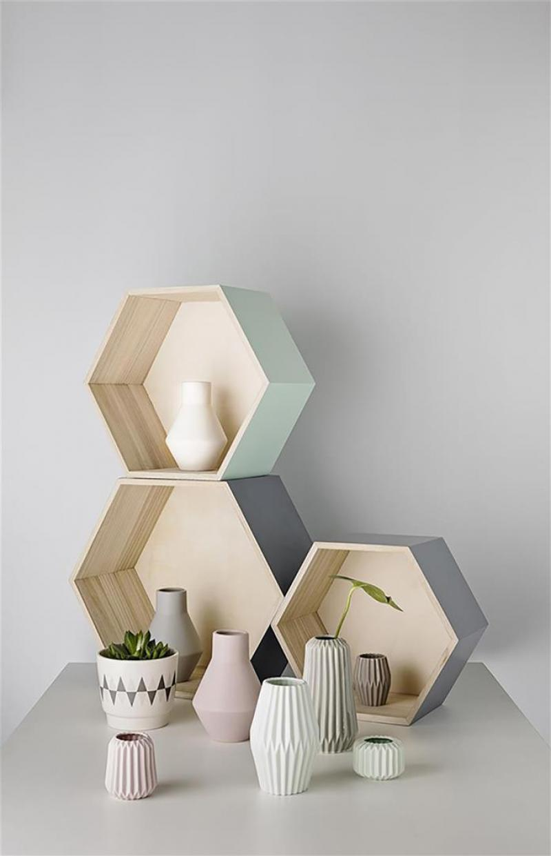 teelichthalter fluted mauve von bloomingville. Black Bedroom Furniture Sets. Home Design Ideas