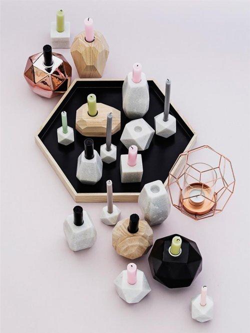 teelichthalter laterne kupfer von bloomingville. Black Bedroom Furniture Sets. Home Design Ideas