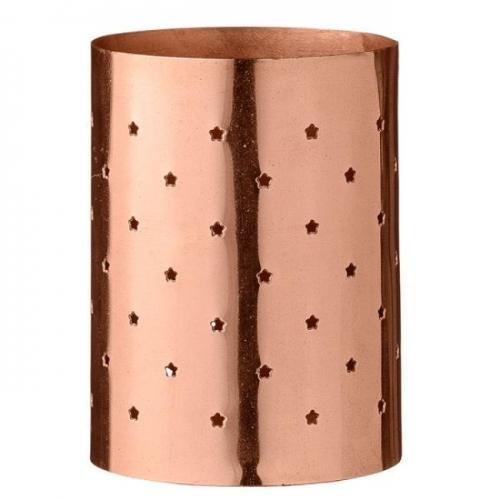 bloomingville teelichthalter kleine sterne kupfer. Black Bedroom Furniture Sets. Home Design Ideas