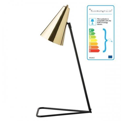 bloomingville tischlampe messing. Black Bedroom Furniture Sets. Home Design Ideas