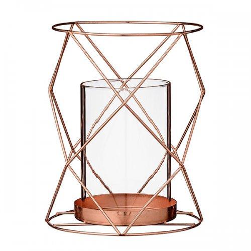 bloomingville windlicht metall kupfer eur 21 00. Black Bedroom Furniture Sets. Home Design Ideas