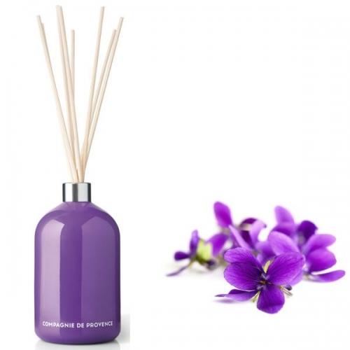 raumduft diffusor violette 200ml von compagnie de provence. Black Bedroom Furniture Sets. Home Design Ideas