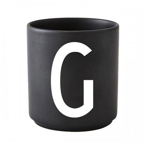 design letters tasse schwarz buchstabe g eur 20 00. Black Bedroom Furniture Sets. Home Design Ideas