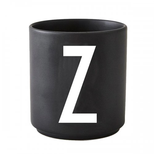 design letters tasse schwarz buchstabe z eur 20 00. Black Bedroom Furniture Sets. Home Design Ideas