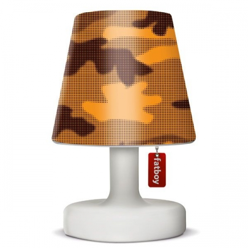 fatboy lampen berzug cooper cappie camouflage orange. Black Bedroom Furniture Sets. Home Design Ideas