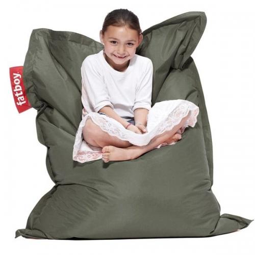 sitzsack junior olivgr n von fatboy. Black Bedroom Furniture Sets. Home Design Ideas