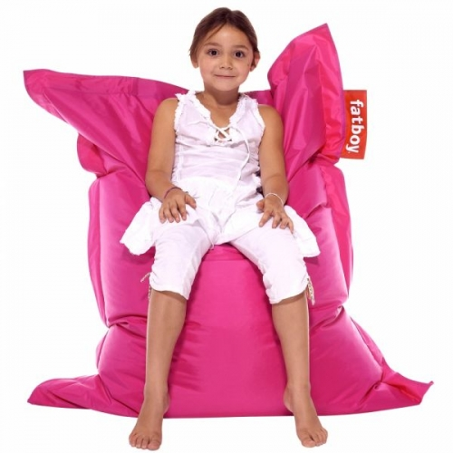 sitzsack junior pink von fatboy. Black Bedroom Furniture Sets. Home Design Ideas