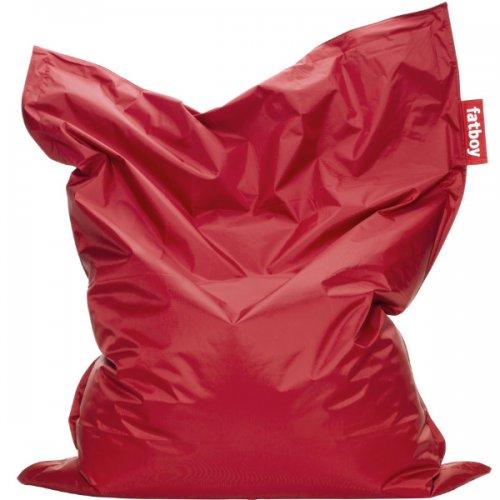 sitzsack original rot von fatboy bei erkmann. Black Bedroom Furniture Sets. Home Design Ideas