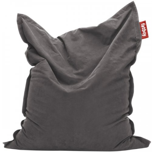 sitzsack original stonewashed grey von fatboy. Black Bedroom Furniture Sets. Home Design Ideas