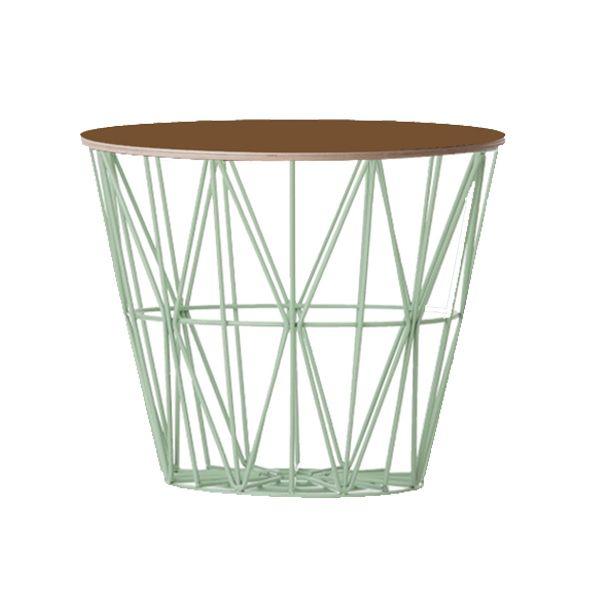 Interesting Ferm Living Basket Mintbraun Mittel With Ferm Living Korb