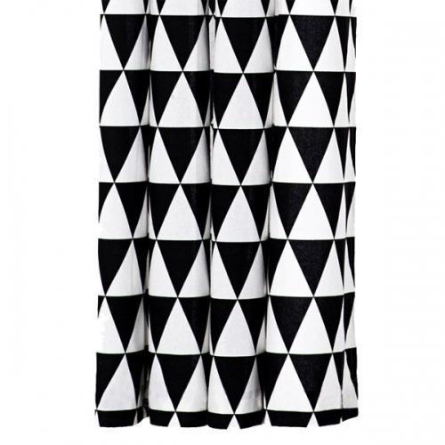 ferm living duschvorhang triangle. Black Bedroom Furniture Sets. Home Design Ideas