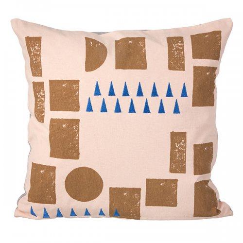 kissen block rosa von ferm living bei erkmann. Black Bedroom Furniture Sets. Home Design Ideas