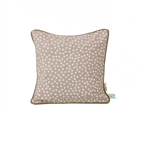 ferm living kissen dots grau. Black Bedroom Furniture Sets. Home Design Ideas