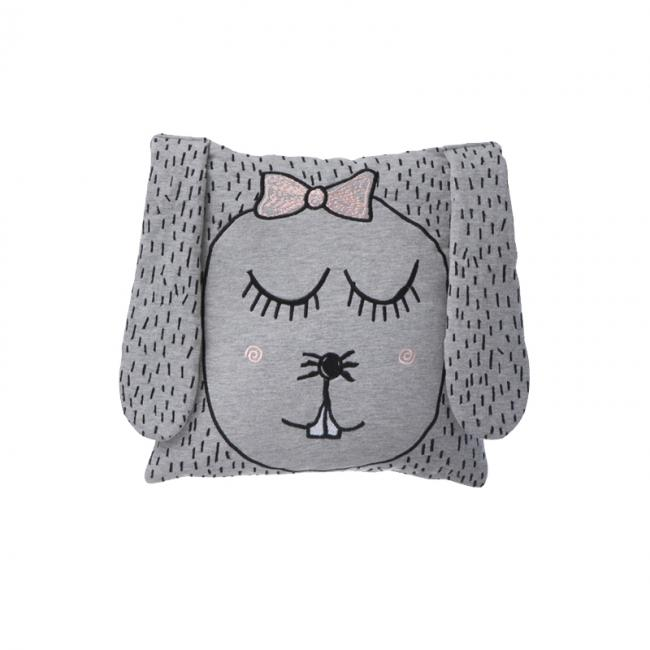 ferm living kissen little ms rabbit eur 40 50 erkmann. Black Bedroom Furniture Sets. Home Design Ideas