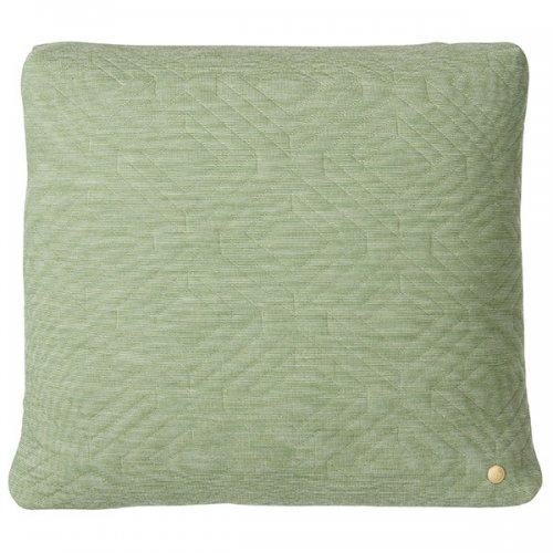 ferm living kissen quilt gr n gro. Black Bedroom Furniture Sets. Home Design Ideas