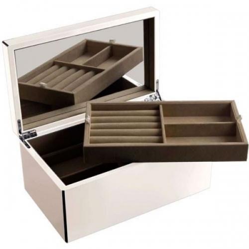gift company schmuckbox tang mit spiegel wei gro. Black Bedroom Furniture Sets. Home Design Ideas