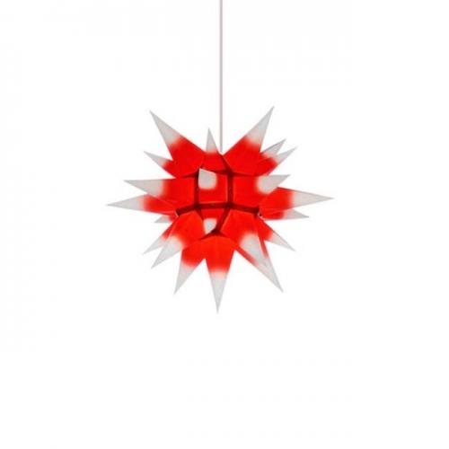 herrnhuter stern i4 papier wei mit rotem kern 40cm. Black Bedroom Furniture Sets. Home Design Ideas