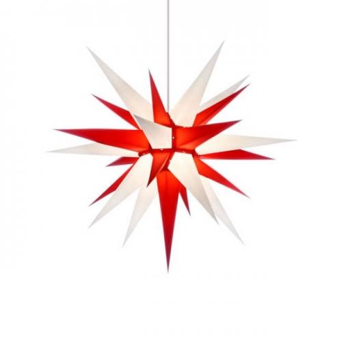 stern i7 papier wei rot 70cm von herrnhuter. Black Bedroom Furniture Sets. Home Design Ideas