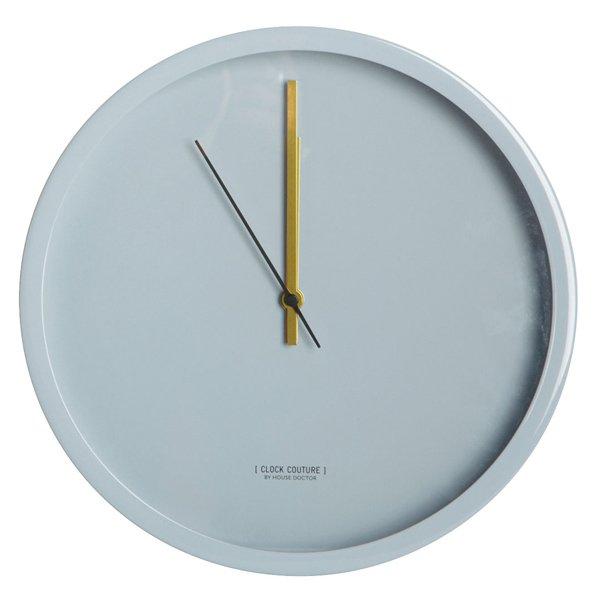 uhr wanduhr clock couture grau von house doctor. Black Bedroom Furniture Sets. Home Design Ideas