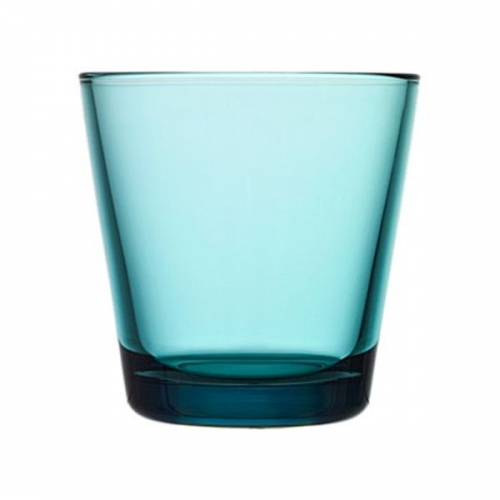glas kartio seeblau klein von iittala bei erkmann. Black Bedroom Furniture Sets. Home Design Ideas
