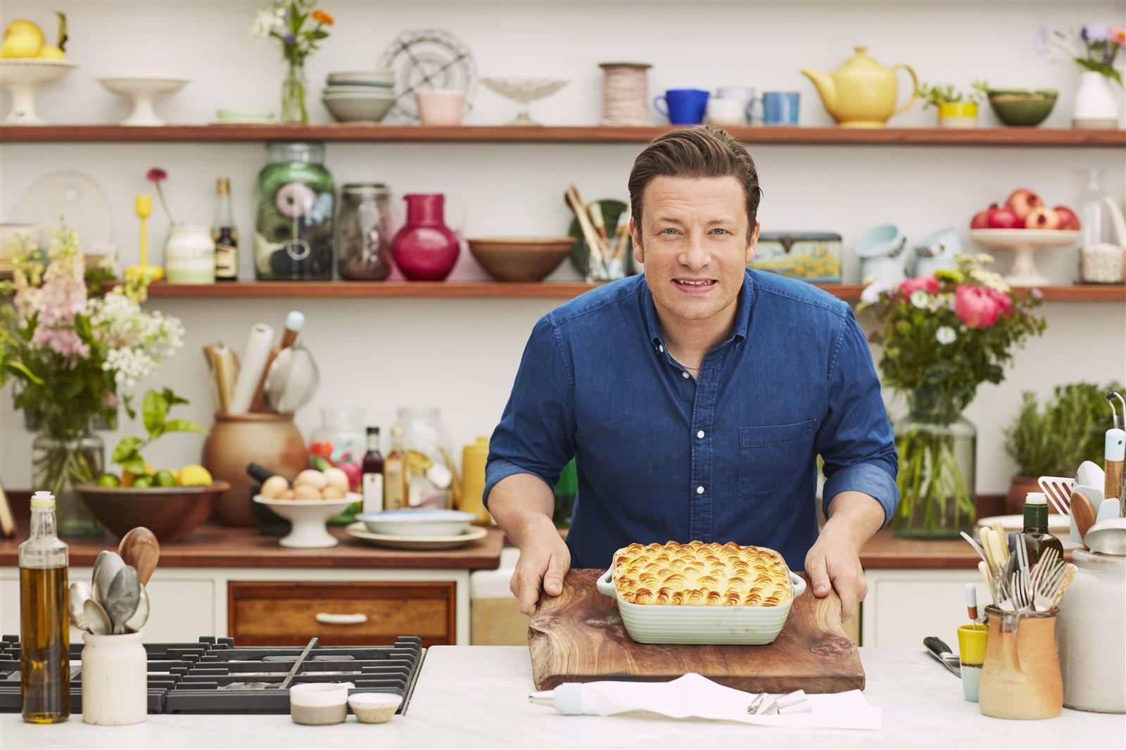 Schale Terrakotta Al Forno Warm Grey von Jamie Oliver