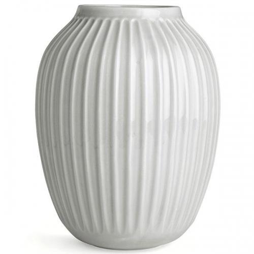 vase hammersh i wei 25cm von k hler design. Black Bedroom Furniture Sets. Home Design Ideas