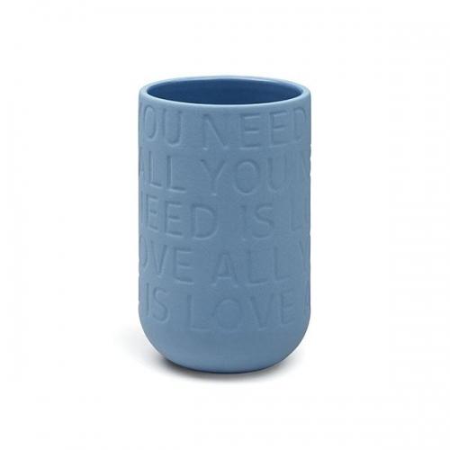 vase love song indigo 17cm von k hler design. Black Bedroom Furniture Sets. Home Design Ideas