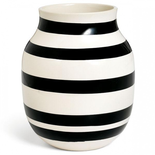 vase omaggio schwarz 20cm von k hler design. Black Bedroom Furniture Sets. Home Design Ideas