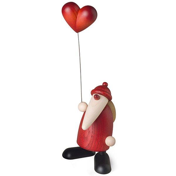 Weihnachtsmann mit Herz von Köhler Kunsthandwerk