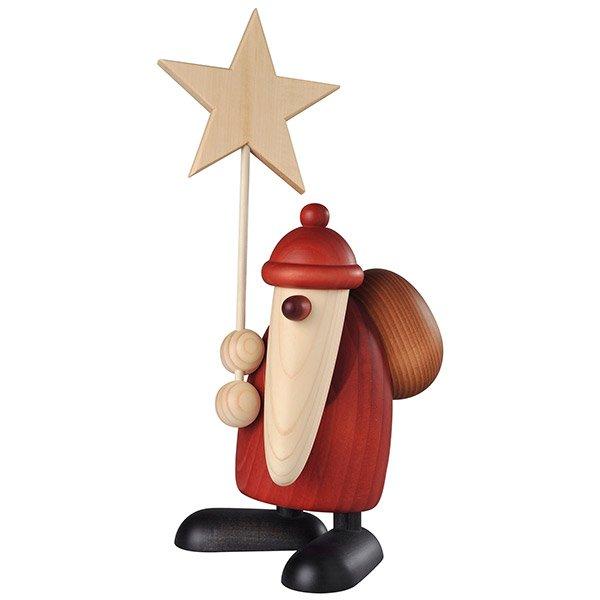 Weihnachtsmann mit Stern von Köhler Kunsthandwerk