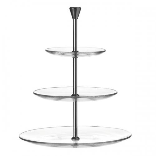 etagere dinner 3 stufig von leonardo bei erkmann. Black Bedroom Furniture Sets. Home Design Ideas