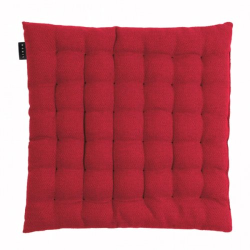 sitzkissen stuhlkissen kissen pepper rot von linum 40 x 40 cm. Black Bedroom Furniture Sets. Home Design Ideas