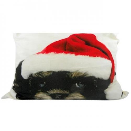 kissen bichon frise weihnachten von mars more. Black Bedroom Furniture Sets. Home Design Ideas