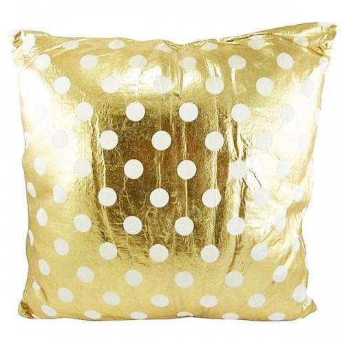 kissen dots gold von mars more. Black Bedroom Furniture Sets. Home Design Ideas