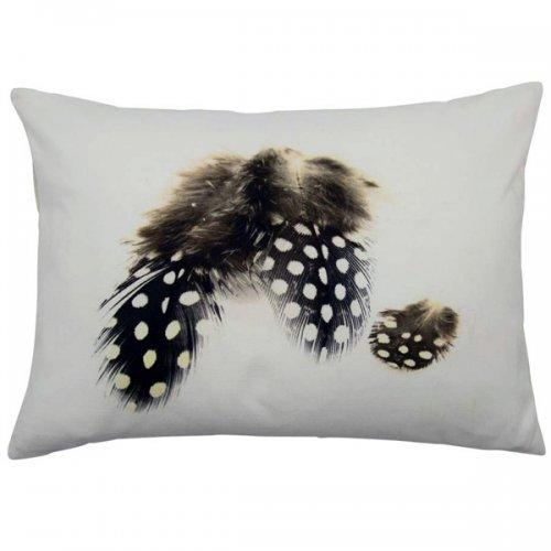 kissen drei perlhuhn feder von mars more. Black Bedroom Furniture Sets. Home Design Ideas