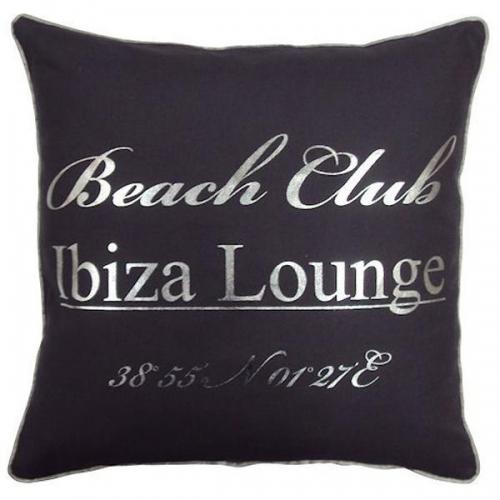 kissen ibiza beach club grau von mars more. Black Bedroom Furniture Sets. Home Design Ideas