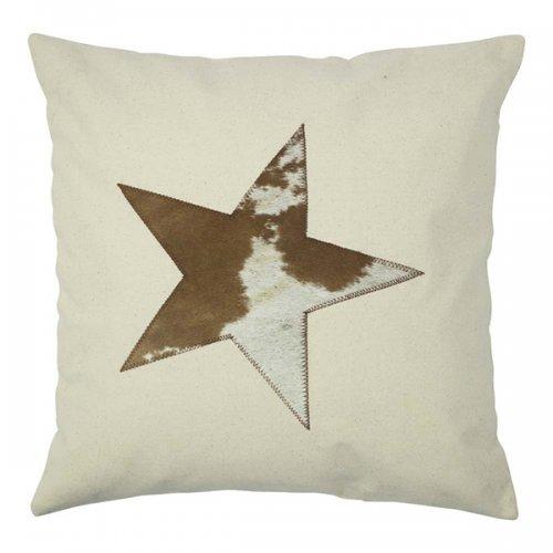 kissen stern beige von mars more bei erkmann. Black Bedroom Furniture Sets. Home Design Ideas