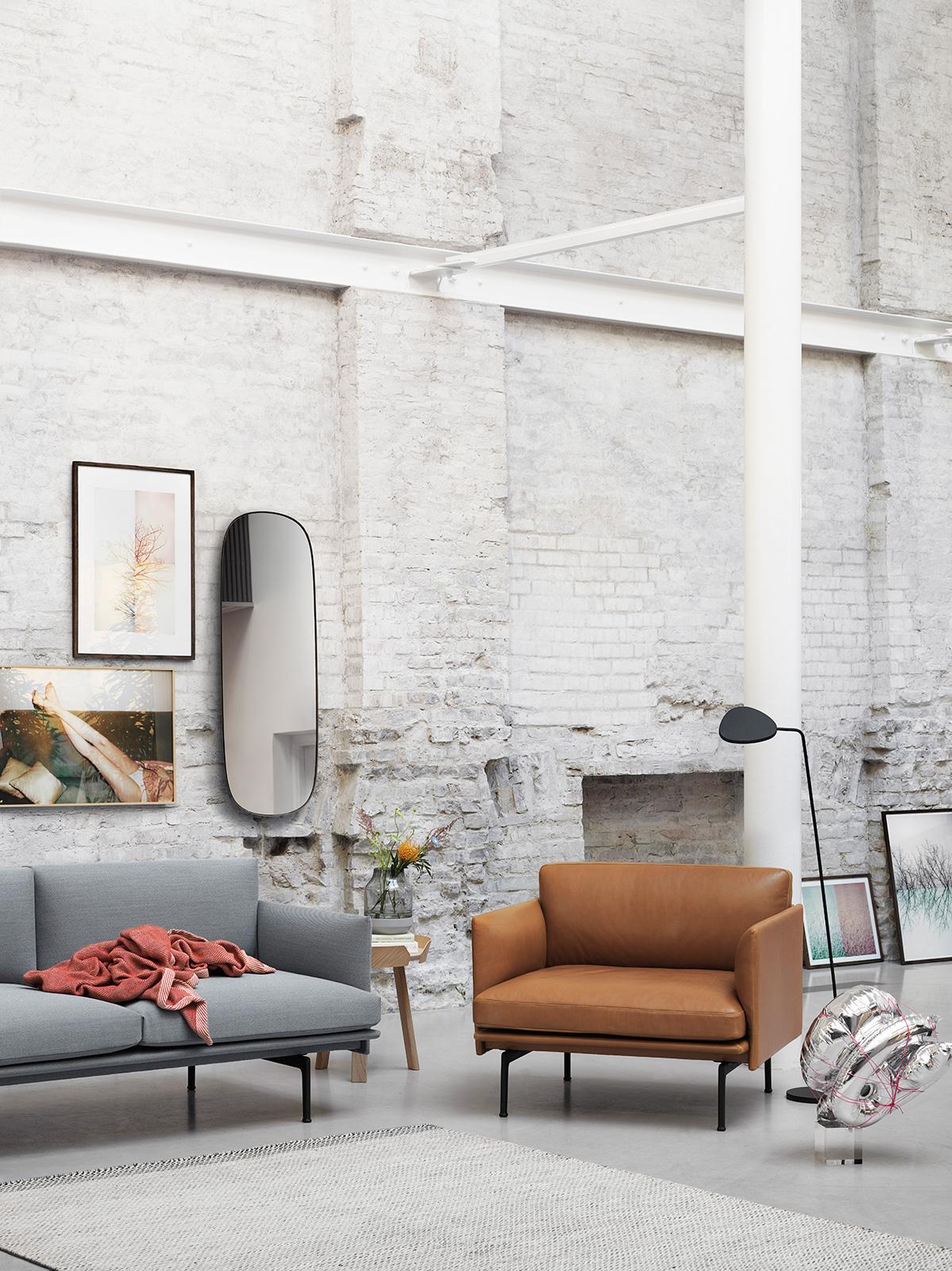decke ripple rot von muuto bei erkmann. Black Bedroom Furniture Sets. Home Design Ideas
