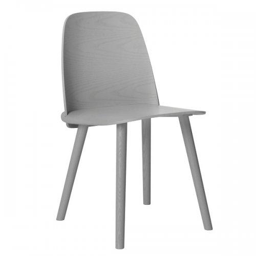 muuto stuhl nerd grau eur 420 30. Black Bedroom Furniture Sets. Home Design Ideas