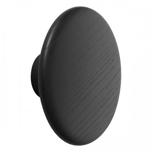 wandhaken the dots schwarz gro von muuto bei erkmann. Black Bedroom Furniture Sets. Home Design Ideas