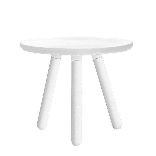 Beistelltisch Rund Weiß Klein : Normann Copenhagen Couchtisch Tablo Table Rund Weiß (Klein)
