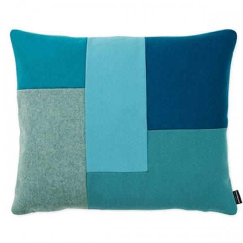 normann copenhagen kissen brick cushion t rkis. Black Bedroom Furniture Sets. Home Design Ideas
