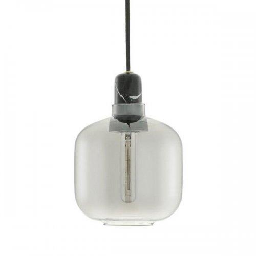 Normann Copenhagen Lampe Amp Smokeblack Klein