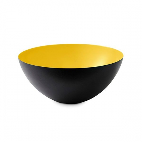 normann copenhagen schale krenit yellow 16cm. Black Bedroom Furniture Sets. Home Design Ideas