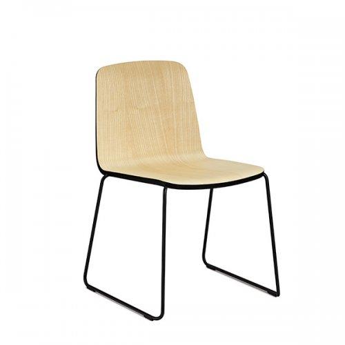 normann copenhagen stuhl just chair esche schwarz eur 240. Black Bedroom Furniture Sets. Home Design Ideas
