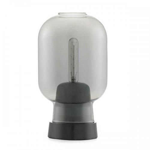 tischlampe amp smokeblack von normann copenhagen. Black Bedroom Furniture Sets. Home Design Ideas