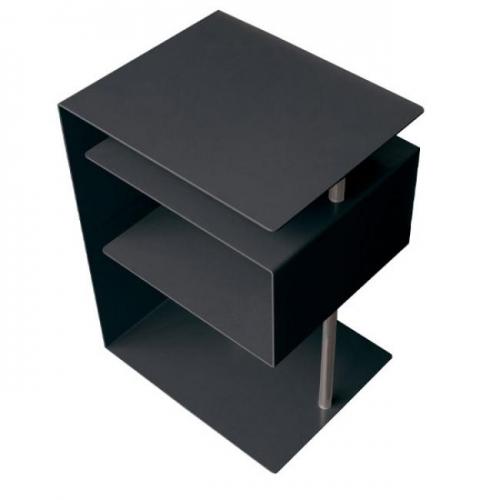 Beistelltisch x centric schwarz von radius design for Beistelltisch design schwarz
