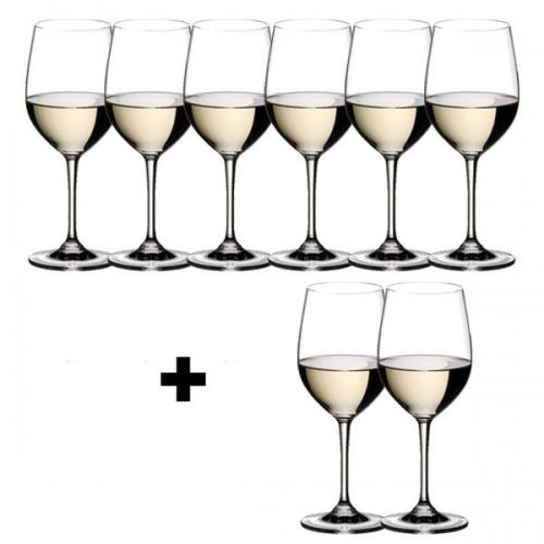 riedel gl ser geschenkset vinum viognier chardonnay pay 6 get 8. Black Bedroom Furniture Sets. Home Design Ideas