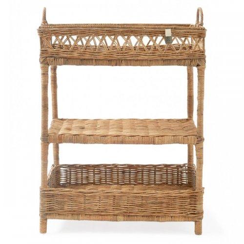 tisch serviertisch beistelltisch servingtray rustic rattan von riviera. Black Bedroom Furniture Sets. Home Design Ideas