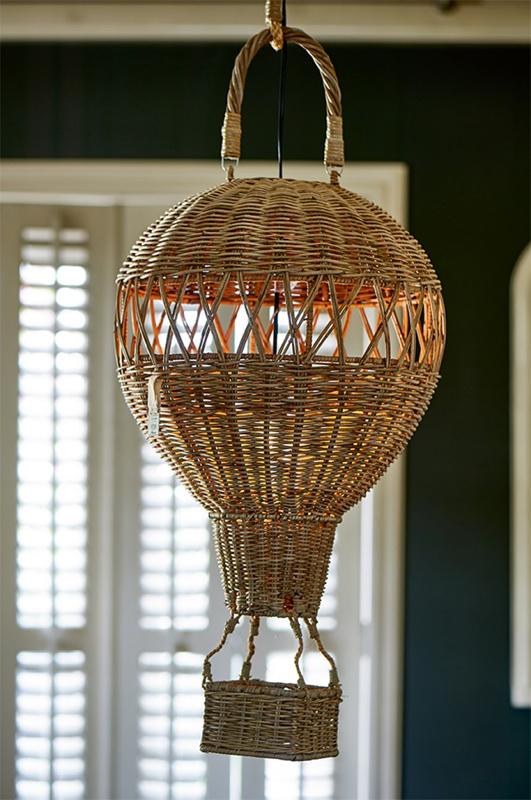 montgolfier ballon lampe pendelleuchte rustic rattan riviera maison. Black Bedroom Furniture Sets. Home Design Ideas
